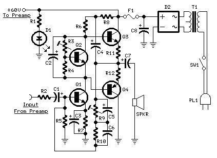 60w Guitar Amplifier