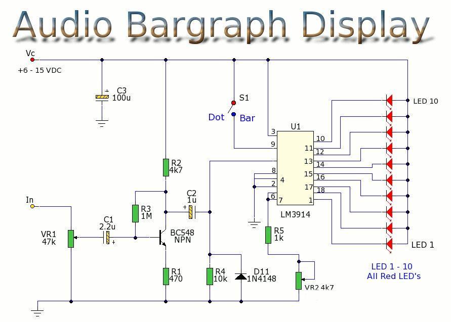 audio bargraph display rh circuit diagrams net Bar Graph in Millimeters Large Process Bar Graph Display