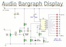 Cool Audio Level Meter Circuit Diagrams Wiring Cloud Pendufoxcilixyz