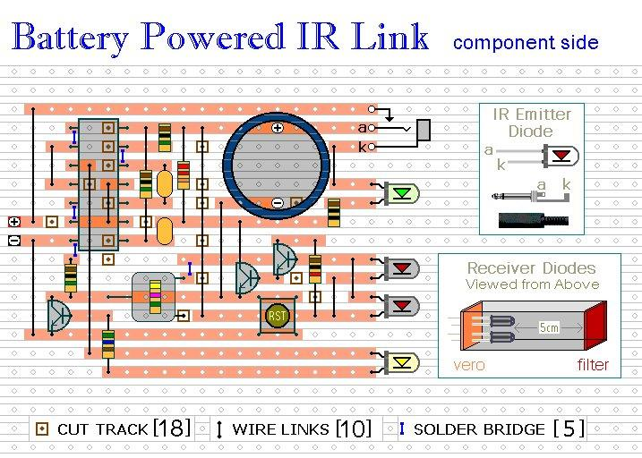 Infrared Link Component Layout