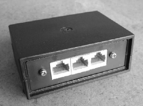 A Passive Ethernet Hub Finished Device
